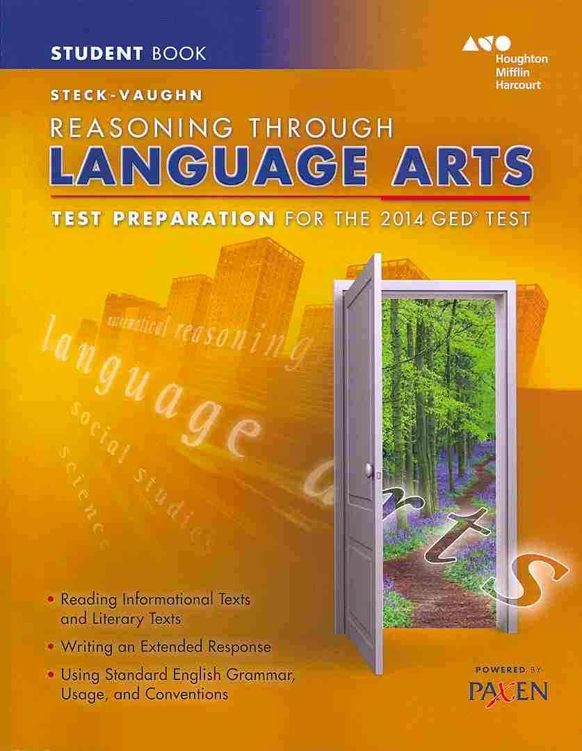 Steck-vaughn Ged Test Prep Reasoning Through Language Arts By Steck-Vaughn (COR)